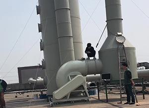 酸雾废气处理工程主要设备案例